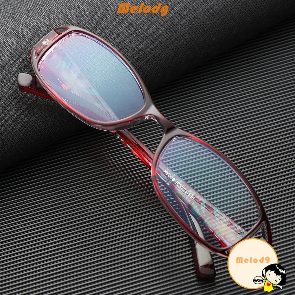 💍MELODG💍 Fashion Anti-Blue Light Eyeglasses Comfortable Ultra Light Frame Reading Glasses Women Portable Elegant Flowers Vintage Eye Protection/Multicolor