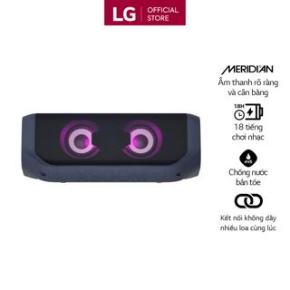 [Mã ELCE150 giảm 8% đơn 250K] Loa Bluetooth Di Động LG XBOOM Go PN7 - Hàng Chính Hãng - Màu Xanh Đen thumbnail