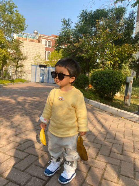 Kính râm đen cho bé 1-9 tuổi