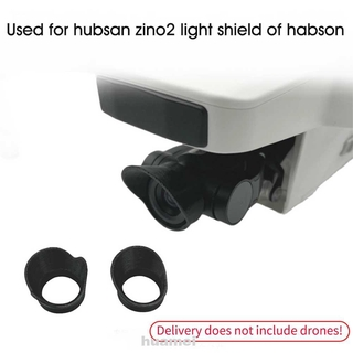 1pair Lens Hood Plastic Practical Durable Portable Drone Accessories Sunshade For Hubsan Zino 2