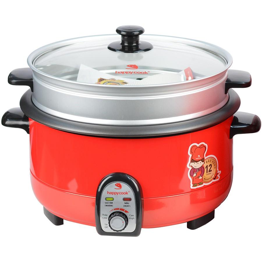 Nồi Lẩu Điện Happy Cook 3.5L HCHP-360SR - Hàng Chính Hãng tại Hà Nội