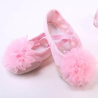 Giày múa balê bông hoa