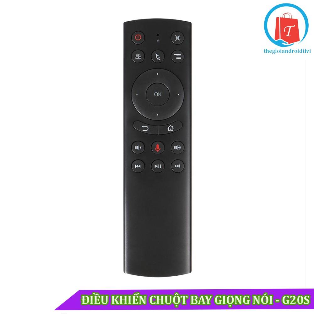 [Siêu rẻ] Chuột Bay Tìm Kiếm Giọng Nói G20S – Hệ Điều Hành Android TV