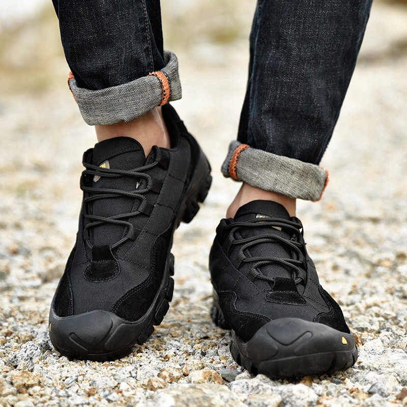Men's Shoes Outdoor Hiking Shoes Comfortable Breathable Low-top Shoes