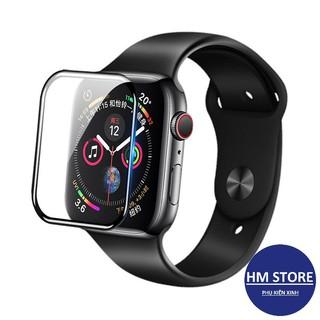 Kính cường lực - Cường lực cho Apple Watch full màn hình, chống va đập, cọ xát