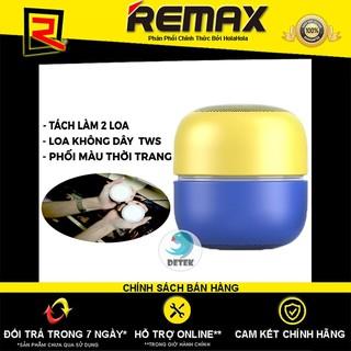 Loa Bluetooth True Wireless (TWS) Remax Proda Dots PD-S200 (Vàng + Xanh Dương)