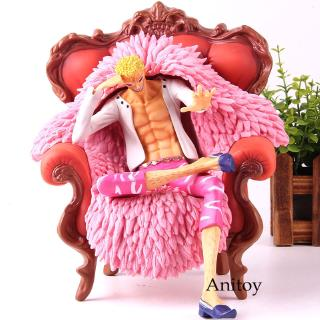 One Piece Action Figure Doflamingo P.O.P DX Donquixote Doflamingo With Sofa