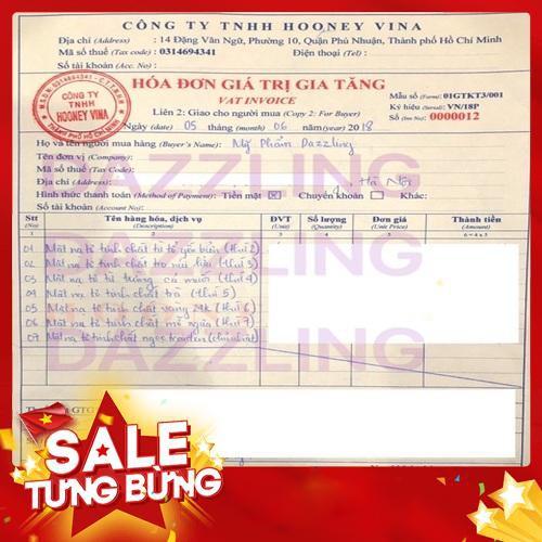 [Chính Hãng] Combo Mix 7 Mặt Nạ Tơ Tinh Chất Dưỡng Trắng 7Days Mask Song Joong Ki