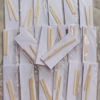 Que gạt và giấy wax lông chuyên dụng… mới