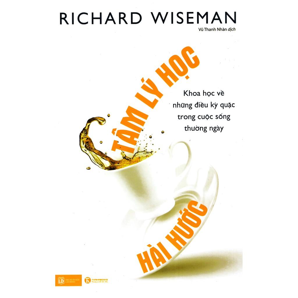 Sách - Tâm Lý Học Hài Hước - Richard Wiseman