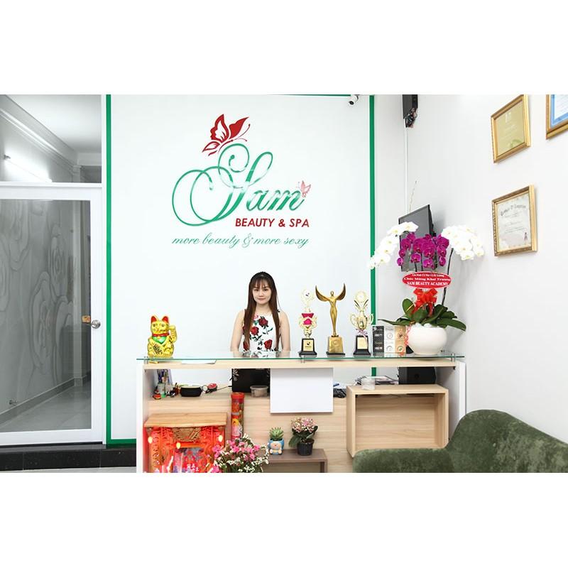 Hồ Chí Minh [Voucher] - Combo chăm sóc da mặt cơ bản thải chì chạy Vitamin C tại Sam Beauty Spa
