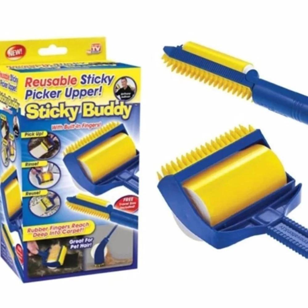 Cây Lăn Bụi Quần Áo Sticky Buddy, Tặng Kèm 1 Đầu Chải- Sản phẩm mới - 14222910 , 2277400169 , 322_2277400169 , 86800 , Cay-Lan-Bui-Quan-Ao-Sticky-Buddy-Tang-Kem-1-Dau-Chai-San-pham-moi-322_2277400169 , shopee.vn , Cây Lăn Bụi Quần Áo Sticky Buddy, Tặng Kèm 1 Đầu Chải- Sản phẩm mới