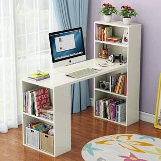 [ SALE HỦY DIỆT THÁNG 11] Bàn làm việc hiện đại/ bàn máy tính phòng làm việc màu Trắng GP04.1