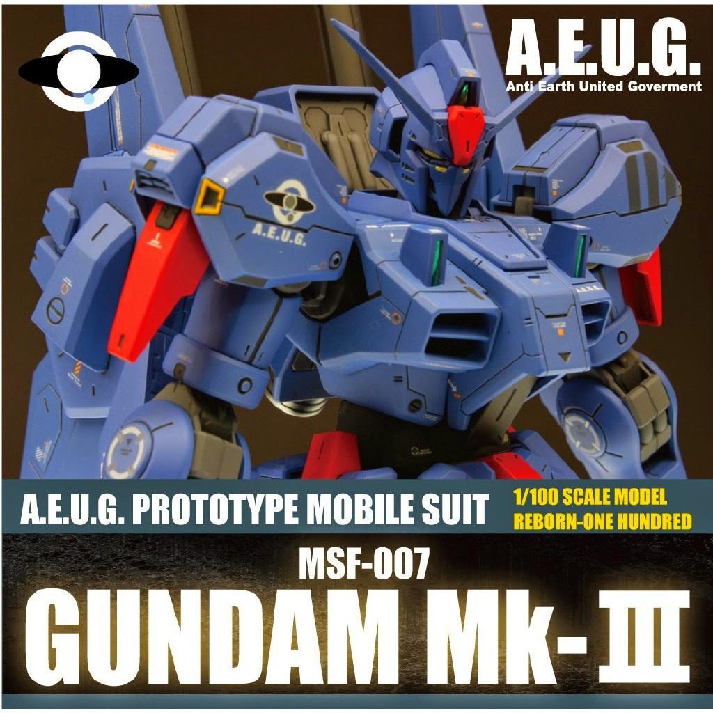 Mô hình lắp ráp Gundam gunpla Daban MG MK-III
