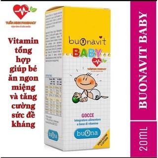 [Kèm Quà Tặng] Buonavit Baby - Vitamin tổng hợp dạng nhỏ giọt giúp bé ăn ngon miệng và tăng cường sức đề kháng thumbnail
