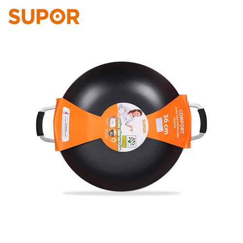 Chảo xào chống dính Comfort Supor W06A36 36cm (Đen) - 3587325 , 1198440358 , 322_1198440358 , 458900 , Chao-xao-chong-dinh-Comfort-Supor-W06A36-36cm-Den-322_1198440358 , shopee.vn , Chảo xào chống dính Comfort Supor W06A36 36cm (Đen)