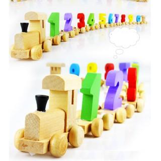 Đồ chơi gỗ – Đoàn tàu số