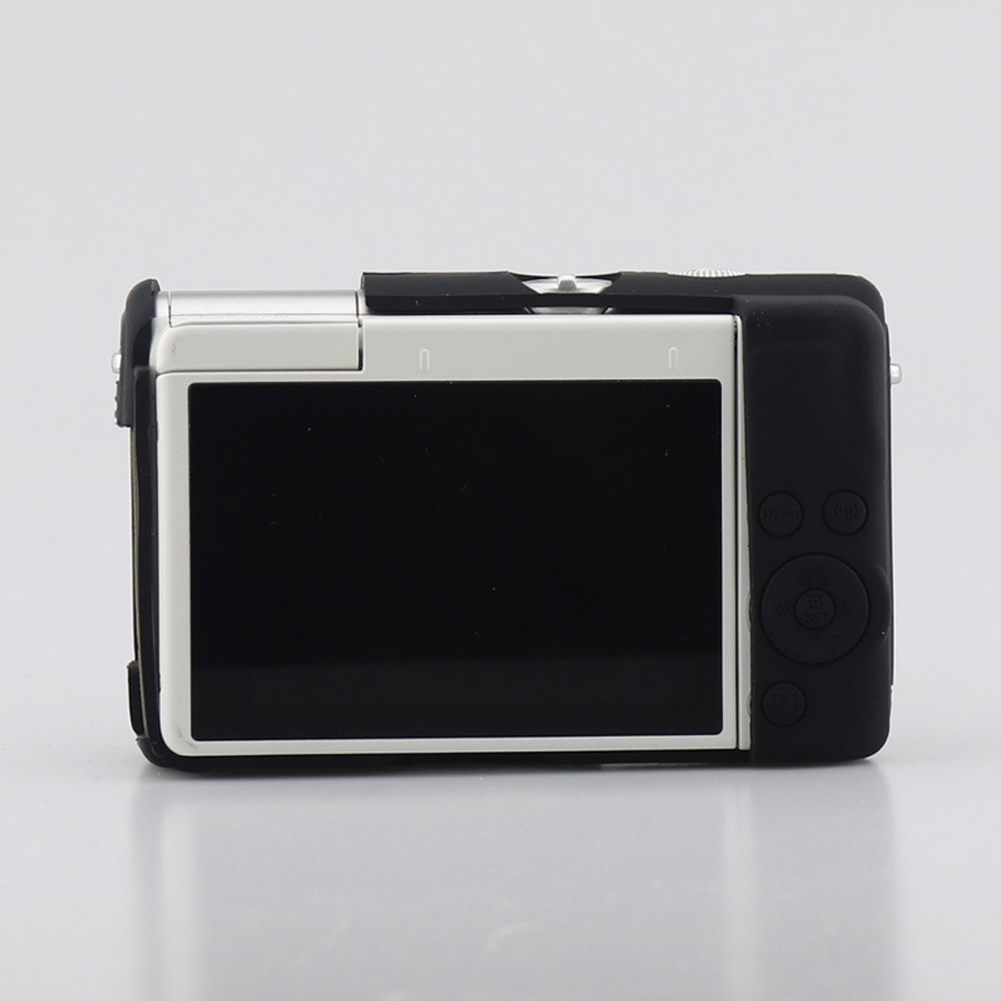 Camera Case Silicone Shockproof Replacement Protective Flexible Accurate Hole For Canon M100