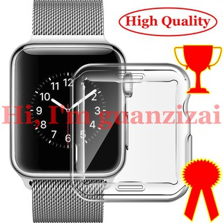 Vỏ Bảo Vệ Bằng Nhựa TPU Cho Đồng Hồ Thông Minh Apple Watch Series 5 4 3 2 1 ( 42Mm 38Mm 40mm 44mm ) thumbnail