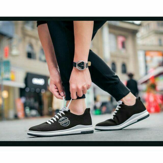 Giày vải thể tha