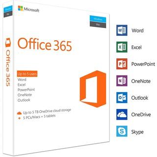 Bộ Ofice 365 Pro Plus cài được 5 thiết bị pc/mac trọn đời