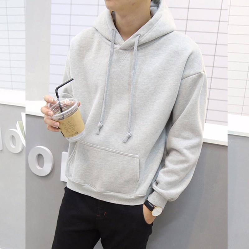Áo nỉ Hoodie có mũ style Hàn Quốc năng động