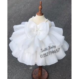 [Hàng cao cấp]Đầm công chúa bé gái (tặng nơ xinh)