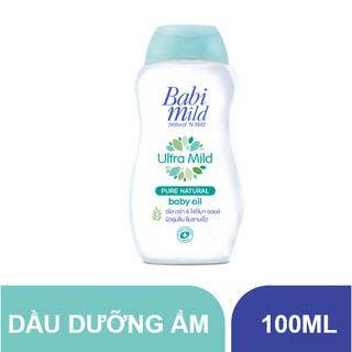 Dầu dưỡng ẩm trẻ em Babi Mild - Pure Natural chai 100ml thumbnail