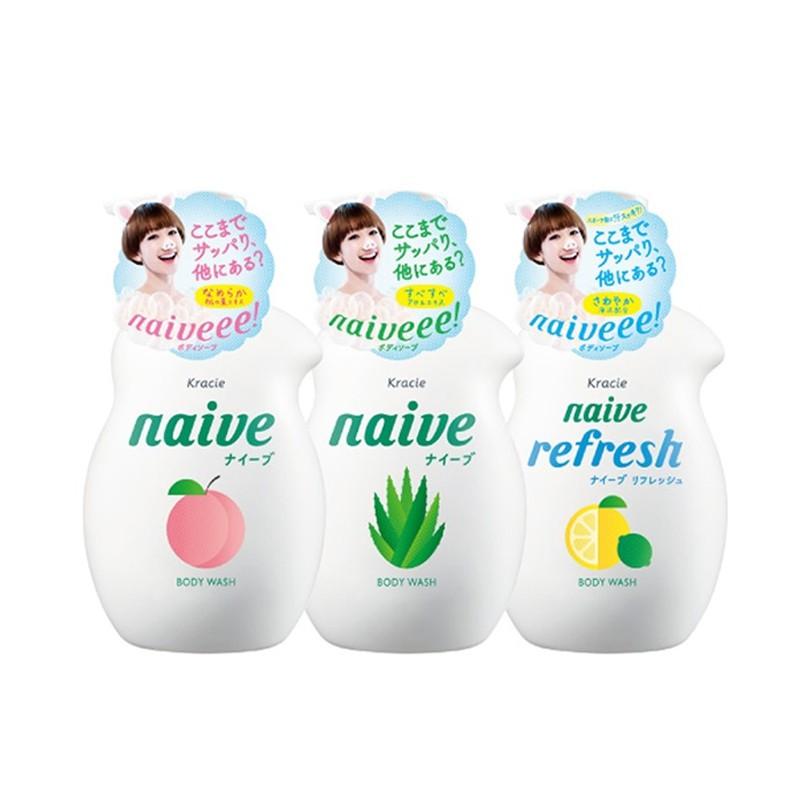 Sữa tắm Naive Kracie Nhật chai 530ml