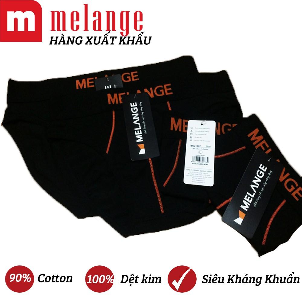 ??BỘ 3 Quần bikini nam cotton Melange MC.21.02