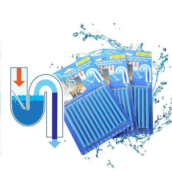 Que thông tắc cống sani sticks đa năng thông minh cho vệ sinh đường ống bồn rửa bát chén tay mặt nghẹt