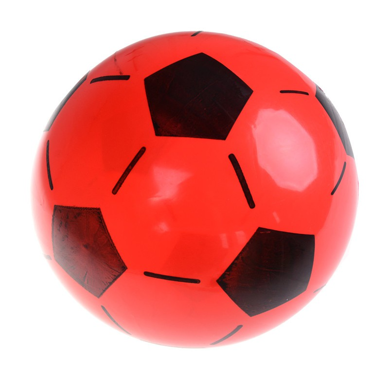YZVN 1PC Inflatable PVC Football Soccer Ball Kids Children Beach Pool Sports Bal