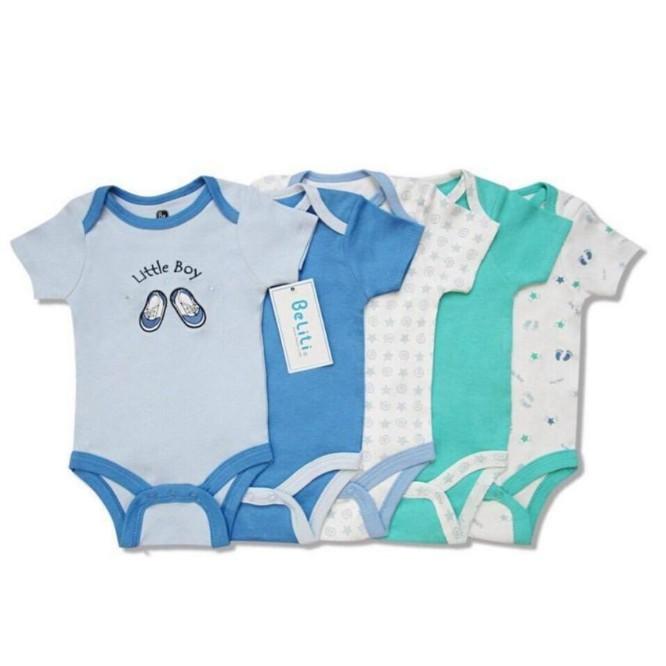 Set 5 body áo liền quần xuất dư xịn cho bé trai và bé gái - 3254847 , 1208614546 , 322_1208614546 , 189000 , Set-5-body-ao-lien-quan-xuat-du-xin-cho-be-trai-va-be-gai-322_1208614546 , shopee.vn , Set 5 body áo liền quần xuất dư xịn cho bé trai và bé gái