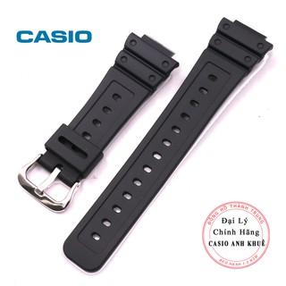 Dây cao su Casio chính hãng cho các mẫu G-5600E, GW-M5610, DW-5600E, DW-5000SL GW-M5600, G-5700B