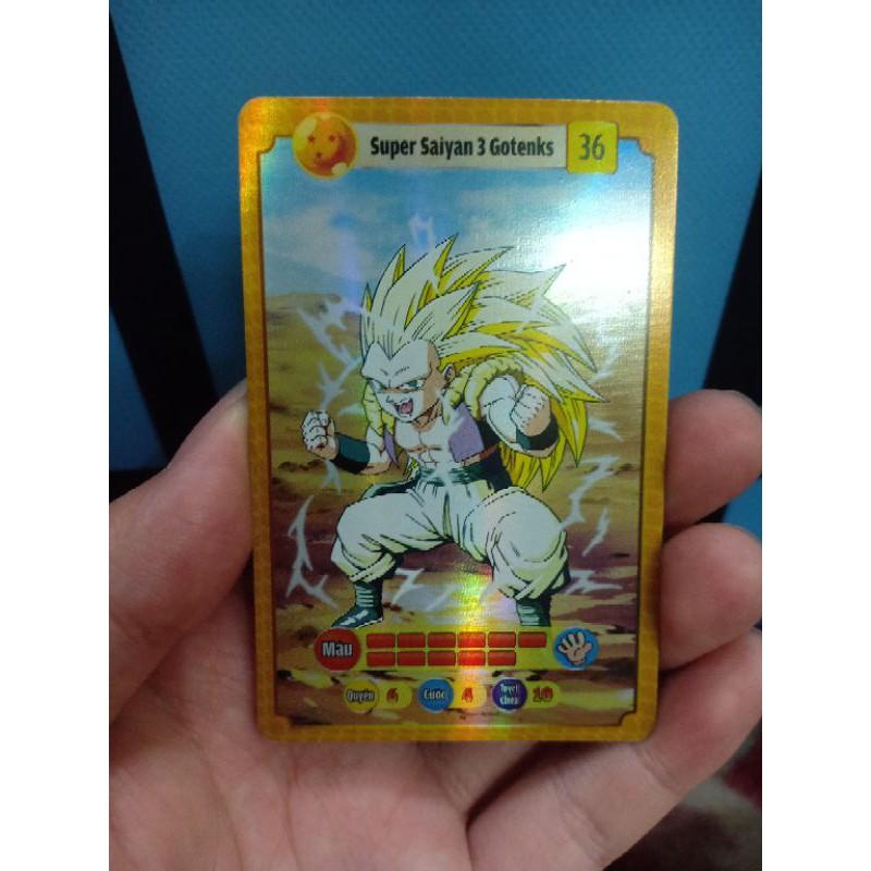 Thẻ bài Xuxifarm chủ đề Dragon Ball Z