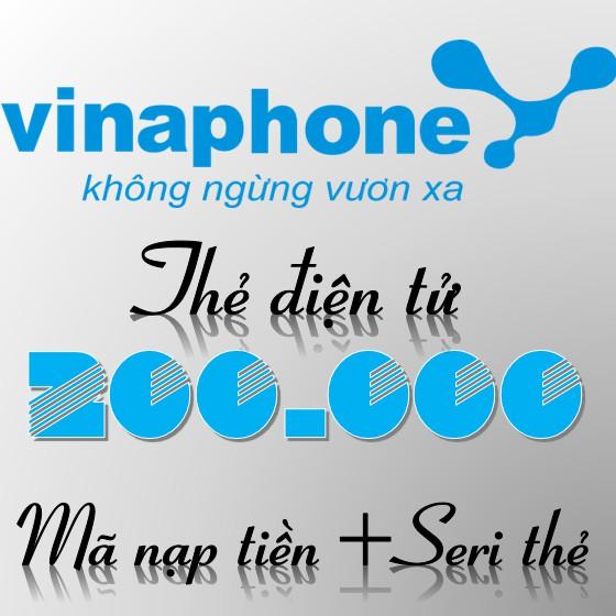 Thẻ nạp Vinaphone 200k