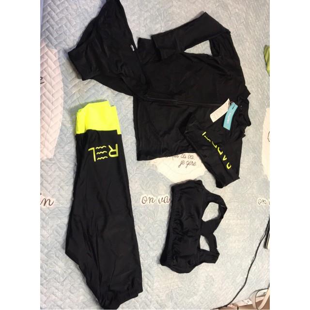 đồ bơi/ bikini dài tay quần ngố/quần lửng phong cách Hàn Quốc