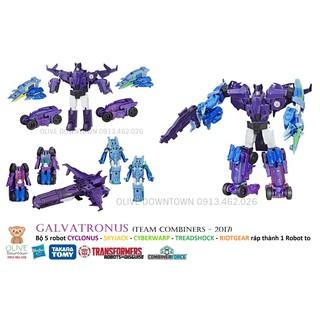 Bộ Team Combiner 5in1 – GALVATRONUS 20cm – Transformers Combiner Force