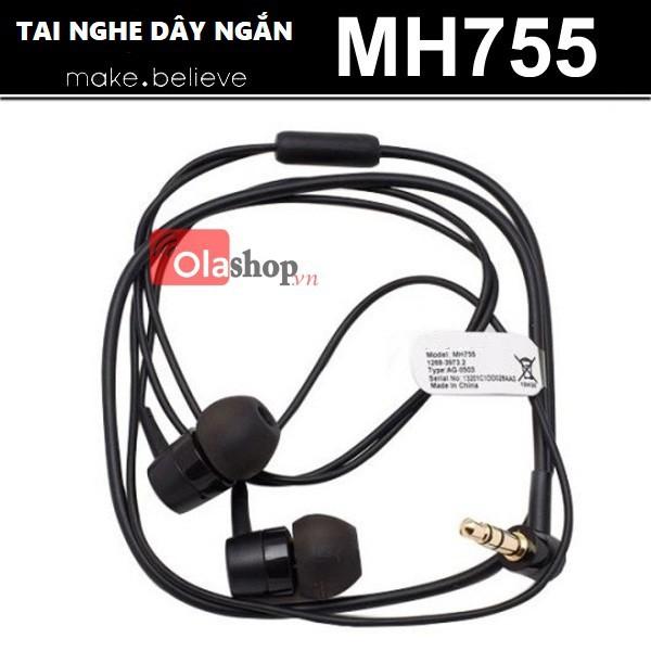 Tai nghe MH755 dây ngắn chuyên dụng