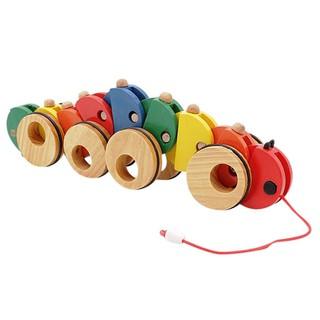 Đồ chơi gỗ Con Sâu Kéo Dây