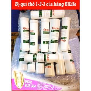 Combo BỘ lõi lọc 123 BeLife Chính hãng korea / Lõi lọc nước BeLife chất lượng cao được sản suất tại Việt Nam