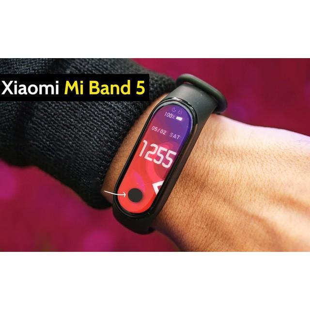 Vòng tay thông minh theo dõi sức khoẻ Xiaomi Mi Band 5 / Đồng hồ thông minh Miband 5 bản quốc tế [ Bảo hành 6 tháng ]