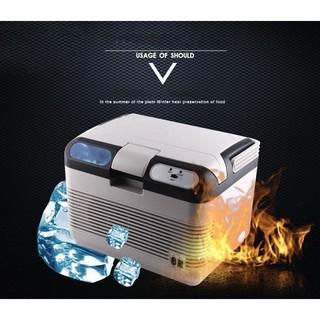 Tủ mát dùng cho ô tô và điện nhà 12L 60W 12v/220v (Nóng/Lạnh) - The Royal's
