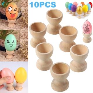Set 10 Đế Gỗ Đựng Trứng Tiện Lợi
