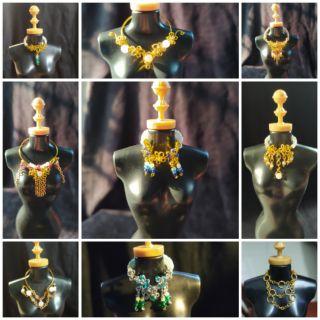 ( trang sức búp bê ) vòng cổ cho búp bê 30 cm