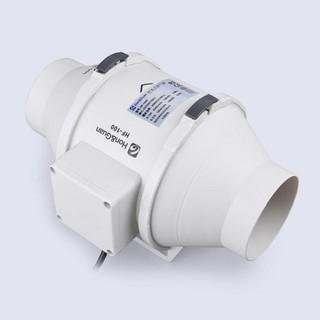 Quạt ống thông gió Hon&Guan HF-100P ( tặng kèm 1m ống gió bạc )