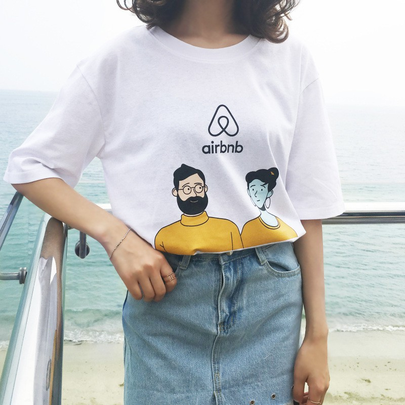 Suilliu - Áo T-shirt in hình couple