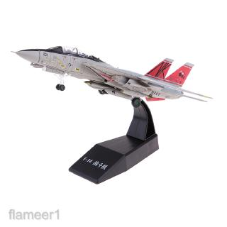 1:100 Alloy US F14 Airplane Fighter Toy Model Diecast Plane Decor