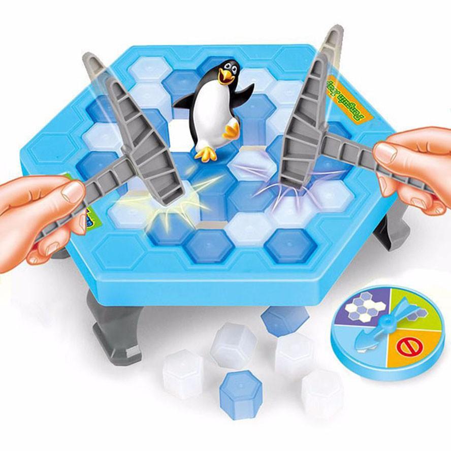 Bộ đồ chơi bẫy chim cánh cụt giải trí