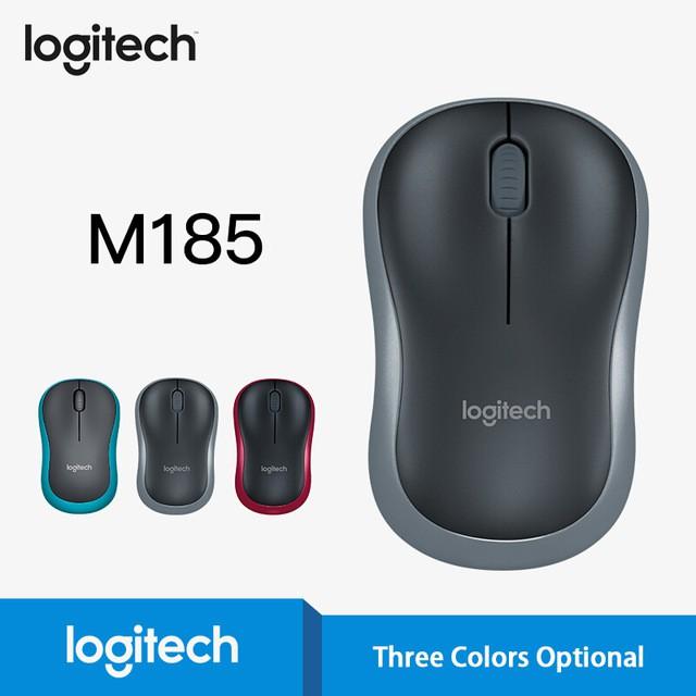 Chuột không dây Logitech m185 tần số 2.4Ghz